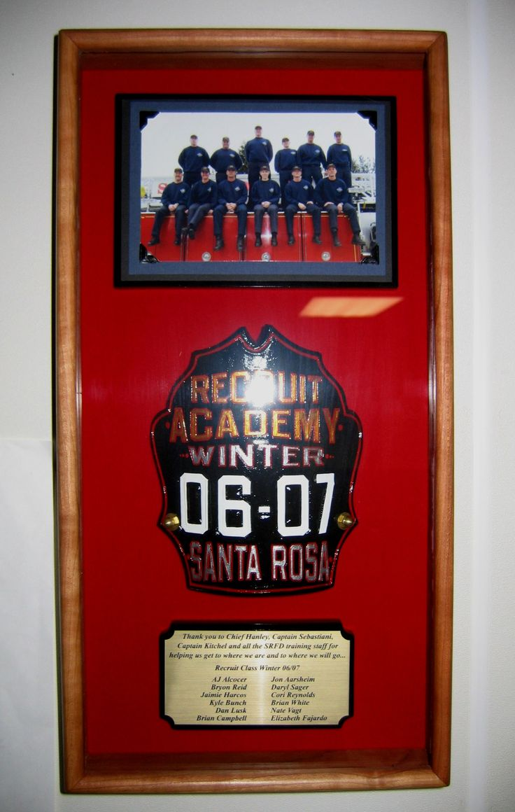 20 Best Images About Firefighter Shadow Boxes On Pinterest