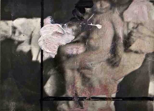 Maurizio Carriero - paint over photography