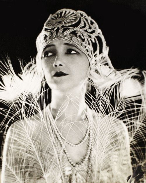 ♕ Vintage Costume Variations ♕  Silent actress Jetta Goudal c. 1920's