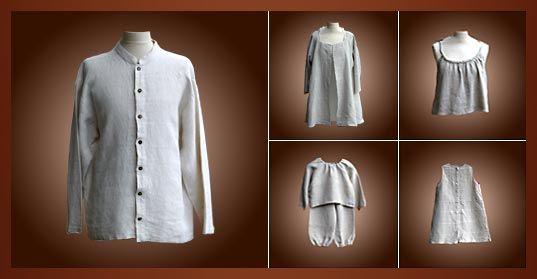 Vêtements en chanvre Aux Fils de l'Arz