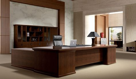 Large Office Table - Beautiful classical design and part of Royale series office table with a natural feel and luxurious looks, Get office table for your businesses that reflect your style and culture. Visit Bosses cabin where you can choose an entire range of matching cabinets, smaller tables, conference tables which fulfill your specific needs.