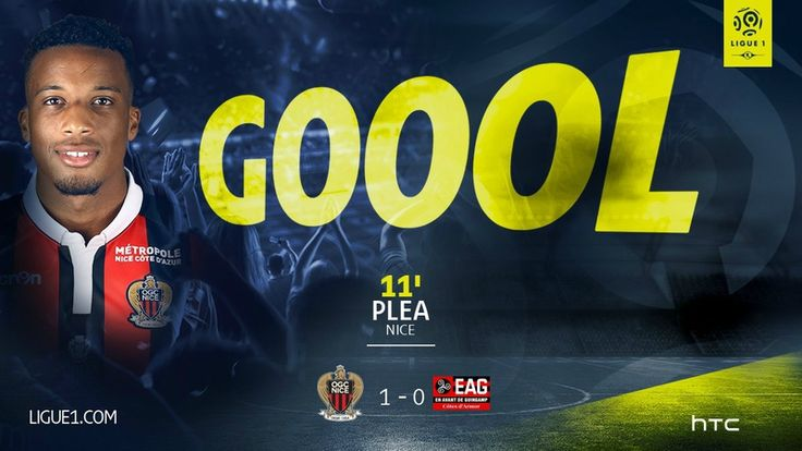 But Plea Nice v Guingamp 1-0