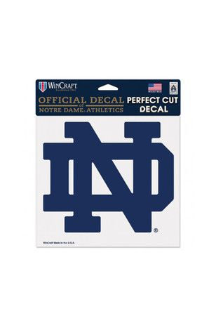 Notre Dame Fighting Irish ND Logo Decal