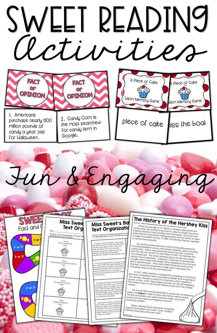 medium resolution of Valentine's Day reading activities for 3rd grade
