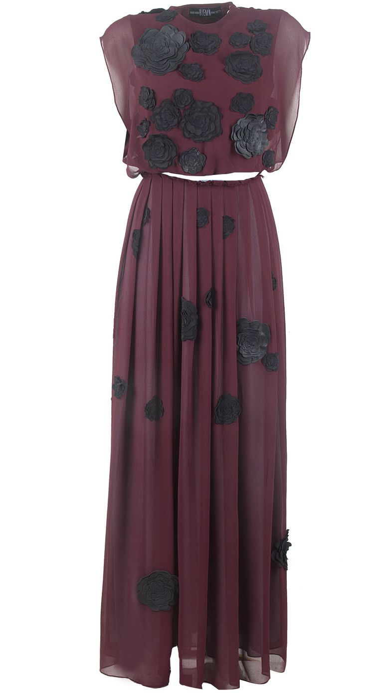 Maroon maxi dress available only at Pernia's Pop-Up Shop.