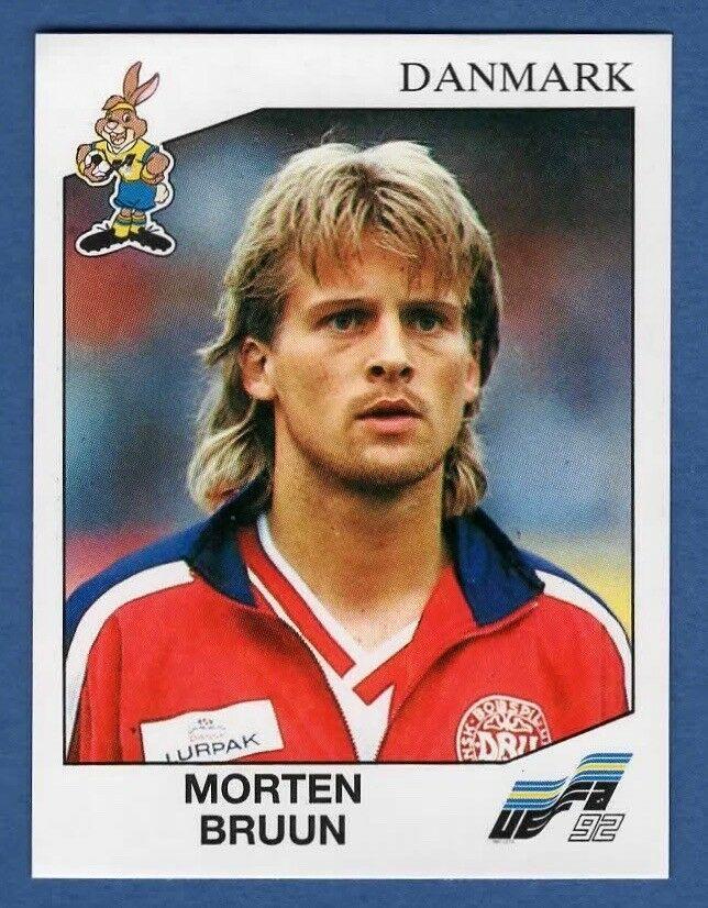 Euro 92 # 219 John Sivebaek Danmark Panini