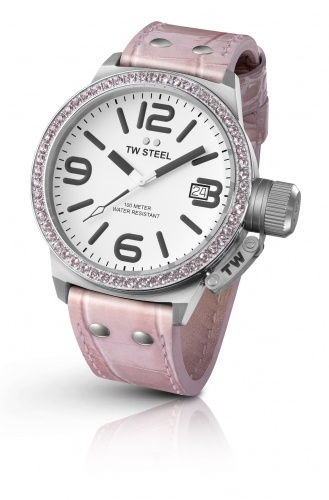 Pretty in Pink -TWSteel at Premier Jewellers