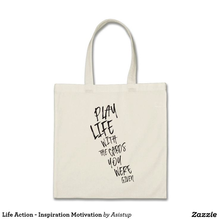 Life Action - Inspiration Motivation Tote Bag