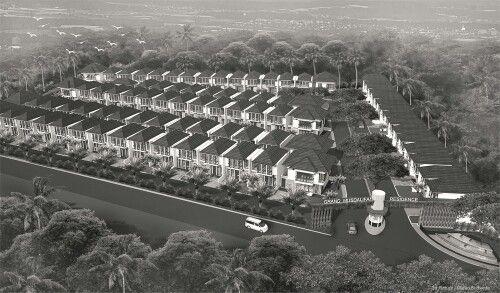 Bird eye view design concept #residence#palembang#sumatra##architecture