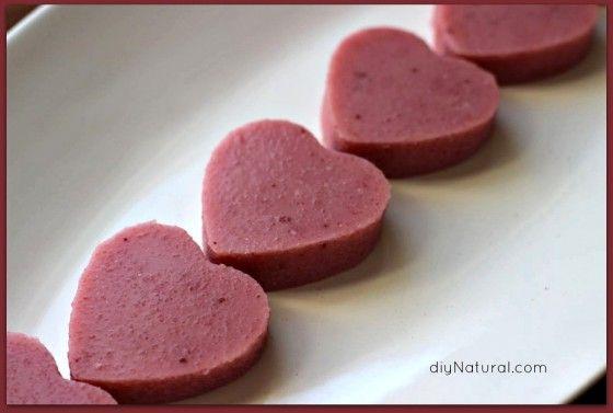 Natural Gelatin Desserts for Valentine's Day