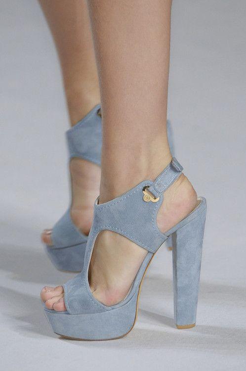powder blue platform sandals | Shoes, Shoe boots, Shoes heels