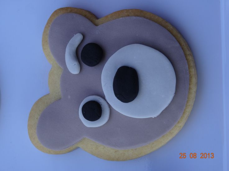 Our Charley Bear cookies by Moreish Macarons