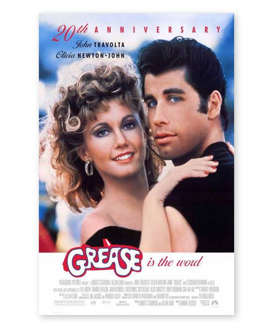 Grease Film Poster
