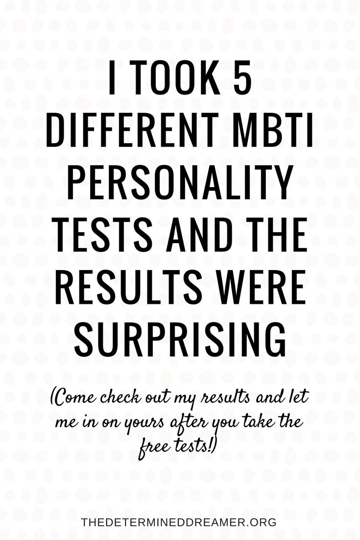 I Took Five Different MBTI Personality Tests and the Results Were Surprising #infj #mbti #16personalities #infp #isfj #isfp #esfj #myersbriggs