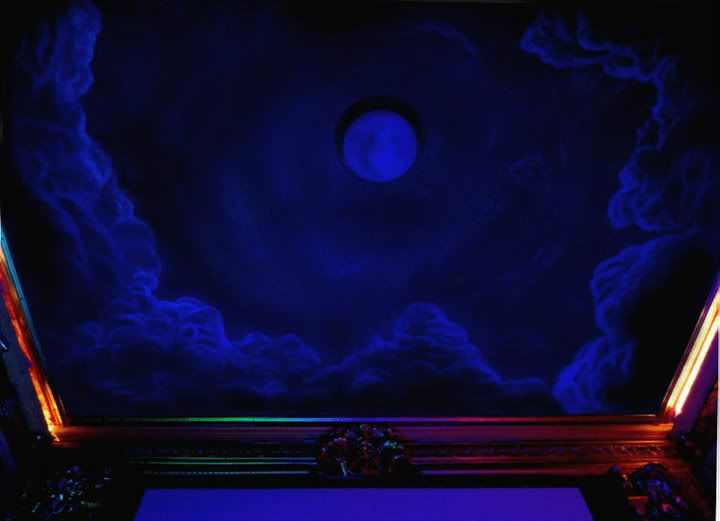 17 best images about skywall on pinterest glow bedroom - Night sky painting on ceiling ...