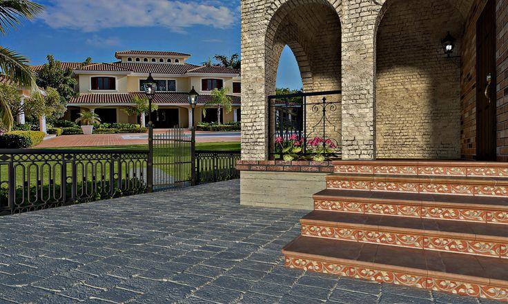 ceramic stair steps in DomuS3D
