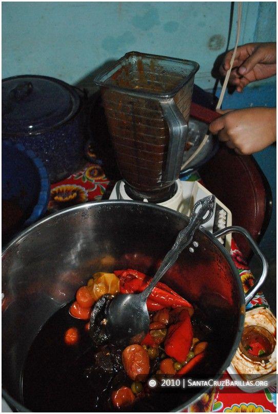 Receta de tamales guatemaltecos | Santa Cruz Barillas