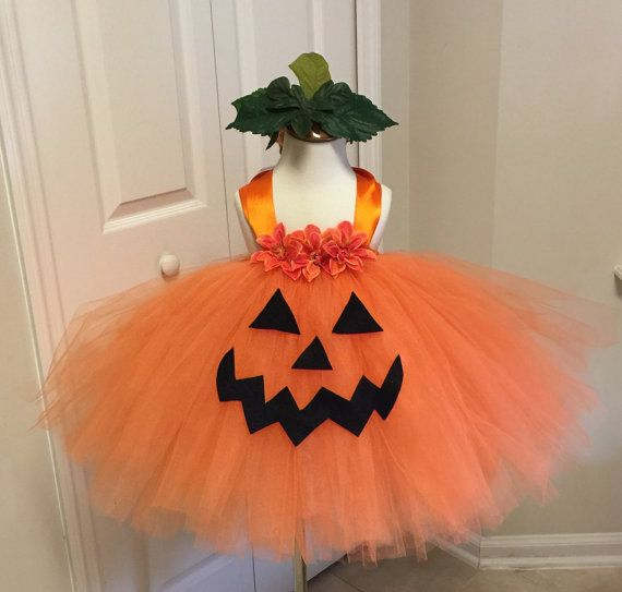 The Shelby Pumpkin tutu costume toddler pumpkin by SarahsMoon