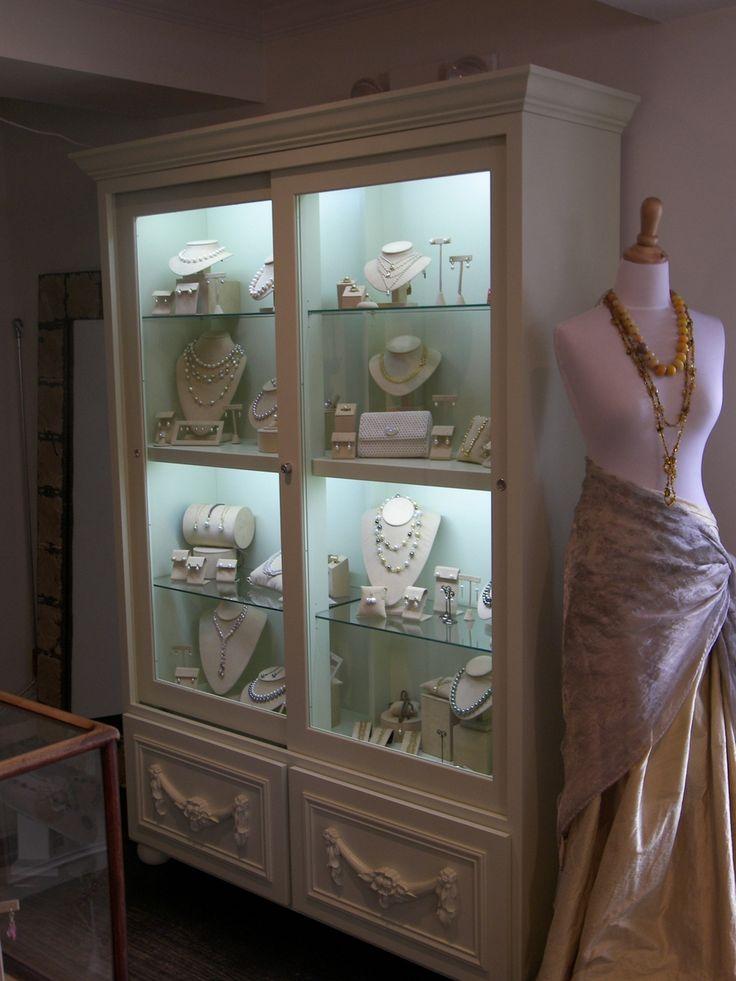 Custom Made Jewlery Display Cases in the Master closet! YESSSSS!!!!!!!