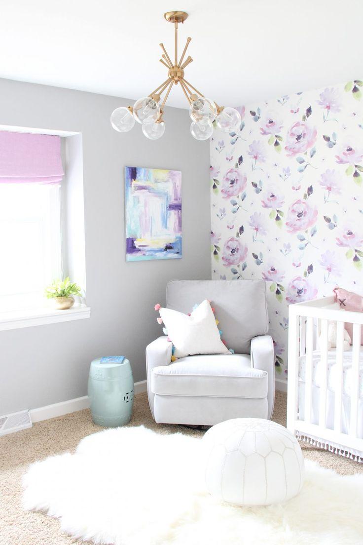 Nursery Reveal: One Room Challenge – Woche 6   – girl nurseries