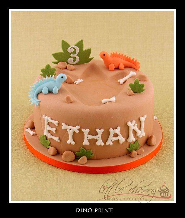 56 Best Dinosaur Cake Ideas Images On Pinterest