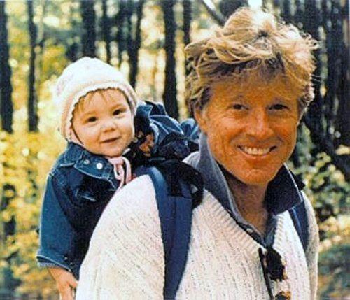 Grandpa Robert Redford :) love this picture