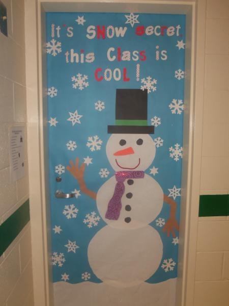 Super cute idea for classroom door