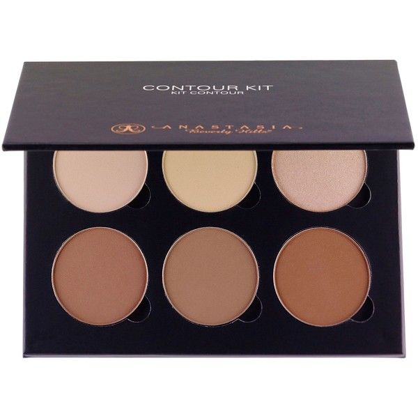 Anastasia Contour Kit ($61) ❤ liked on Polyvore featuring beauty products, makeup, beauty, cosmetics, multicoloured and womens-fashion