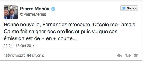 Clash Pierre Ménès-Luis Fernandez : le ton monte ! - http://www.actusports.fr/121322/clash-pierre-menes-luis-fernandez-ton-monte/