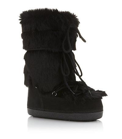 Fendi Fur Moon Boots