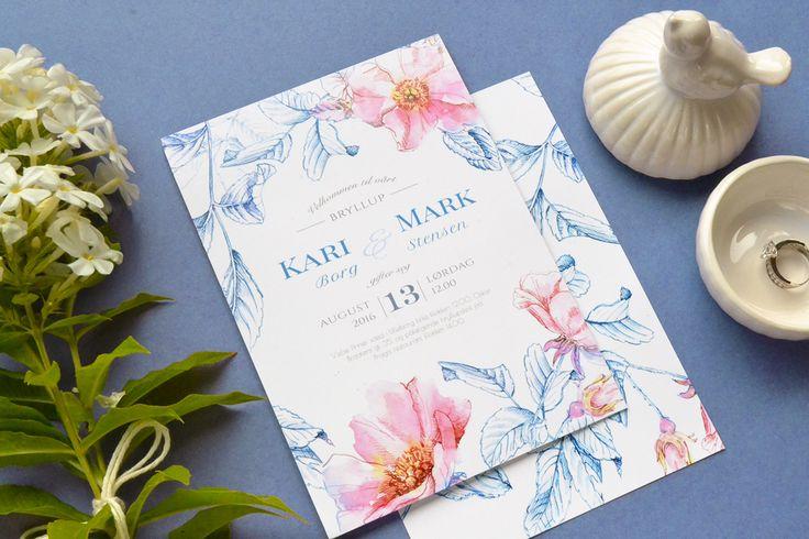 """Briar"" wedding invitation suite on Behance"