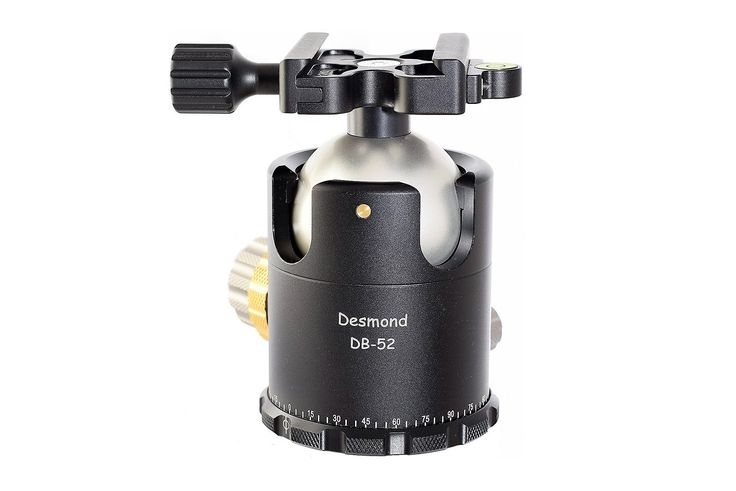 Announcement of the Desmond DB-52 top line Ball Head with friction control and Arca-Swiss® compatible clamp.     #desmond   #ballhead   #news   #arcaswisscompatible   #dualnotch