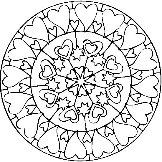 262 best Hearts images on Pinterest Mandalas Heart doodle and