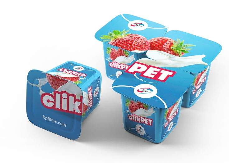 clikPET is a brand-new PET-based technology for the dairy industry from Klöckner Pentaplast. The new innovation embodies full polystyrene functionality, complemented by excellent gas and water vapour barrier properties and the ability to bend and click.