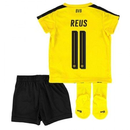 BVB Borussia Dortmund Trøje Børn 16-17 Marco #Reus 11 Hjemmebanesæt Kort ærmer.199,62KR.shirtshopservice@gmail.com
