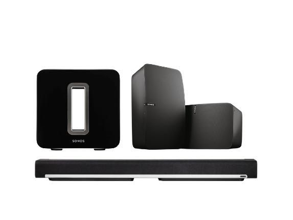 Sonos 5.1 (with NEW Play 5 Black)