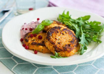 En lätt men varm vegetarisk höstlunch som kan kompletteras med skinka, kassler eller rökt fisk.