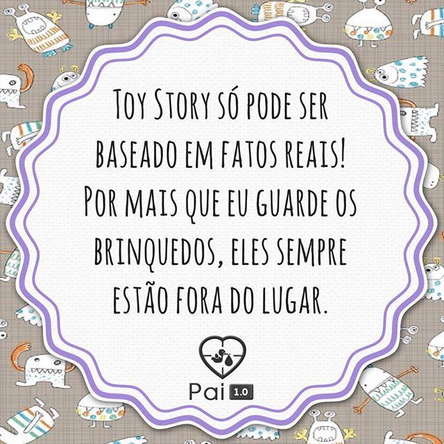 True story    #paternidadereal #maternidadereal #humordodia #babyquotes #quotes #frasesdebebe #instababy #vidadepai #paternidade #toystory #toys #brinquedo #bagunça #bagunca