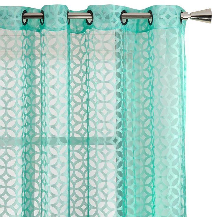 """Circo Collection - Sheer Curtain - Length 84"""""""