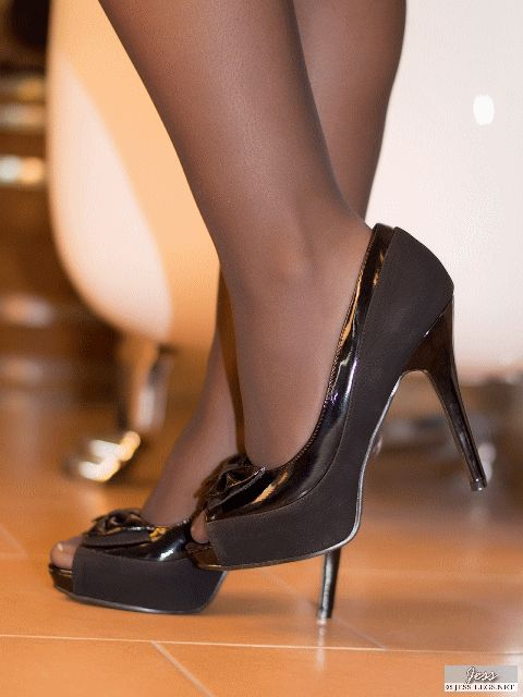 Sheer Pantyhose Feet black pantyhose feet shoe play ...