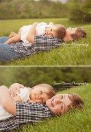 Adorable sibling photography ideas with sister, new baby 34