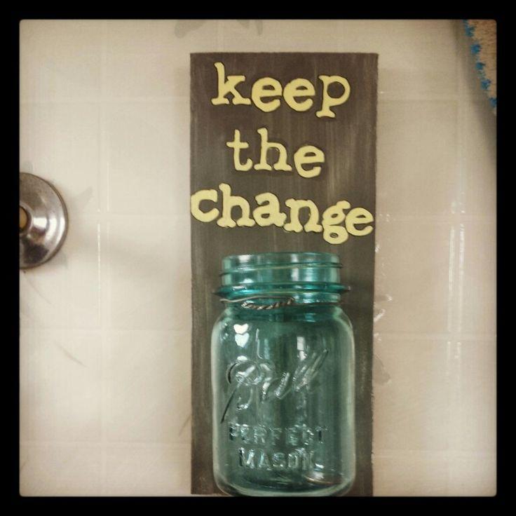 Change jar for laundry room