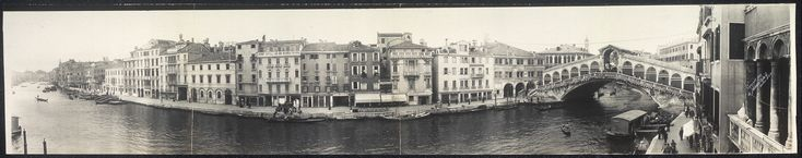 panoramic venice photos | Panoramic view of the Grand Canal, Venice, Italy | Library ...