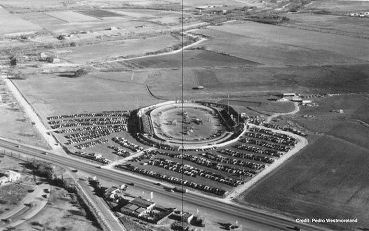 Ca 1955 Pan American Speedway 1520 Austin Hwy At