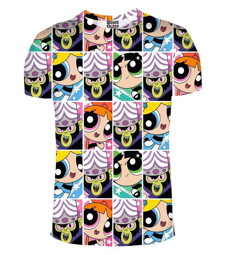 Good vs Evil t-shirt, Mr. GUGU & Miss GO