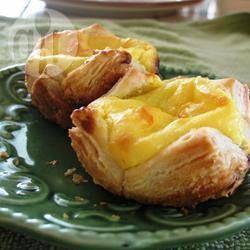 Португальские слойки с заварным кремом @ allrecipes.ru