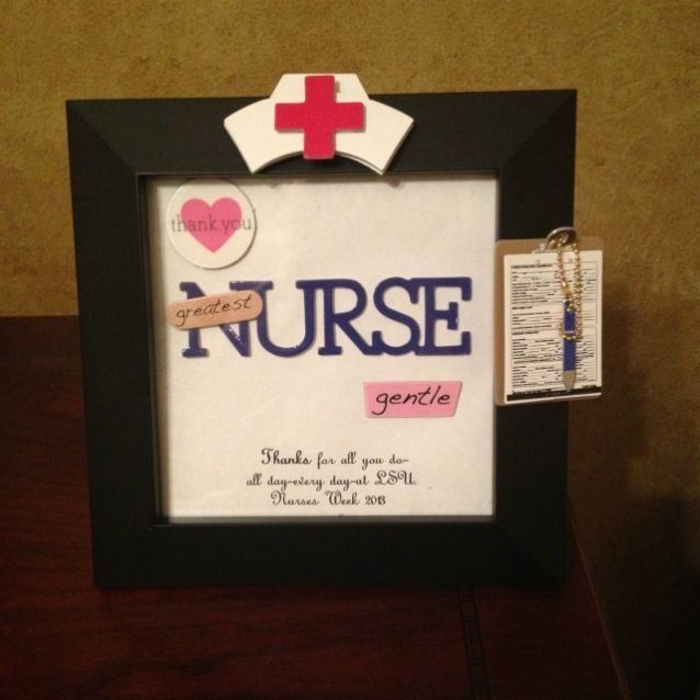 62 best nurses day gift ideas images on pinterest nurses nurse a perfect diy gift for the nurses in your life low cost easy solutioingenieria Choice Image