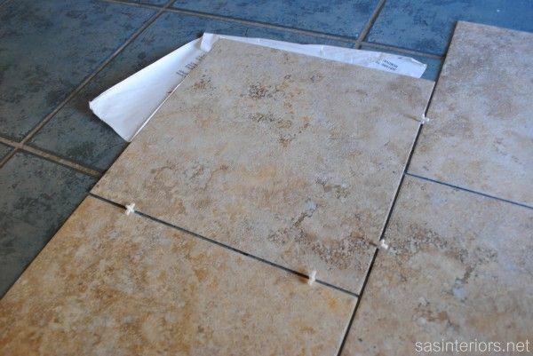 10 ideas about luxury vinyl tile on pinterest vinyl tile flooring luxury vinyl flooring and for Groutable vinyl tile in bathroom