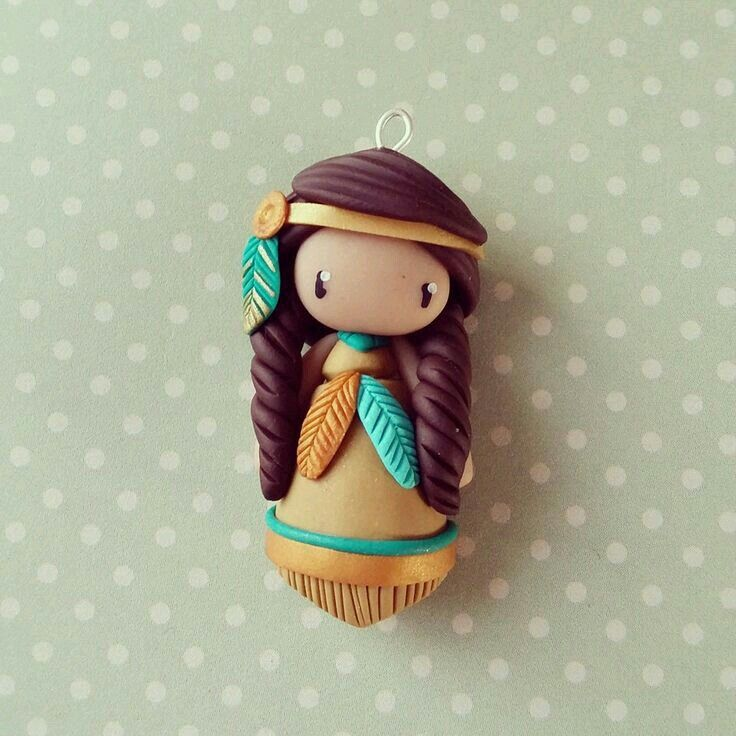 601 best clay dolls images on pinterest clay dolls - Pasta de fimo ...