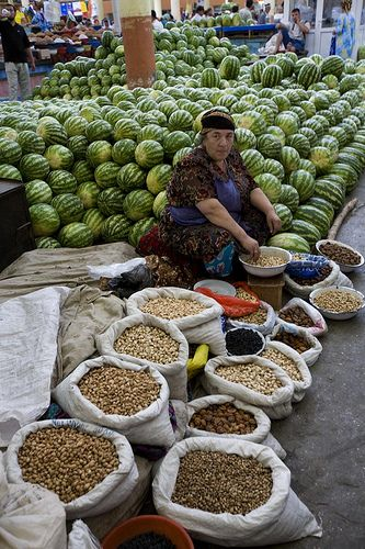 Tajikistan - Look at those melons!